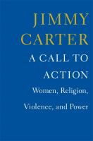 book cover: A call to action