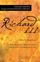 Title: The tragedy of Richard III Author:Shakespeare, William