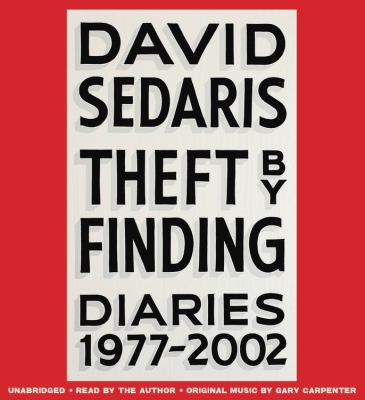 Cover Image for Theft by Finding: Diaries