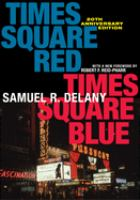 Times Square red, Times Square blue /