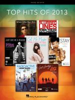 Top hits of 2013 : easy piano.