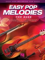 Easy pop melodies for bass.