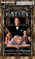 Cover of the book The great Gatsby