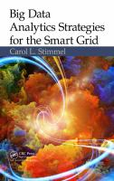 Big data analytics strategies for the smart grid [electronic resource]
