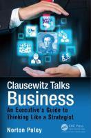 Clausewitz Talks Business