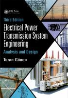 Electrical power transmission system engineering : analysis and design