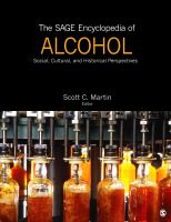The Sage encyclopedia of alcohol [electronic resource] : social, cultural, and historical perspectives