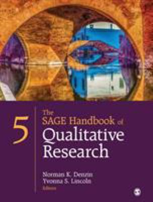 Book cover for The SAGE handbook of qualitative research / editors, Norman K. Denzin, Yvonna S. Lincoln