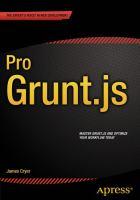 Pro Grunt.js [electronic resource]
