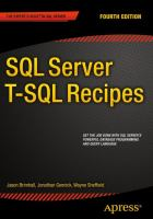 SQL Server T-SQL Recipes [electronic resource]