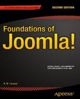 Foundations of Joomla [electronic resource]
