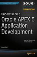 Understanding Oracle APEX 5 Application Development [electronic resource]