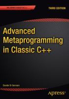 Advanced metaprogramming in classic C++ [electronic resource]