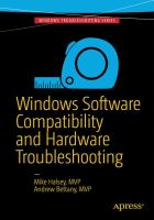 Windows Software Compatibility and Hardware Troubleshooting [electronic resource]