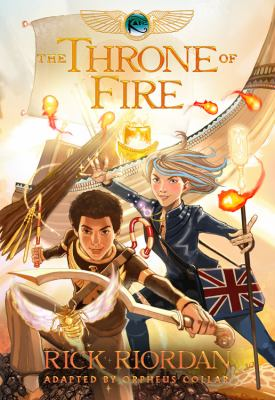 The Throne of Fire (Kane Chronicles 2) book jacket