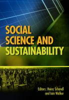 Social science and sustainability /