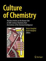 Culture of Chemistry [electronic resource] : The Best Articles on the Human Side of 20th-Century Chemistry from the Archives of the Chemical Intelligencer