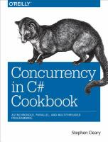 Concurrency in C# cookbook [electronic resource]