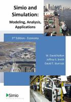Simio & simulation : modeling, analysis, applications