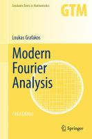 Modern Fourier Analysis [electronic resource]
