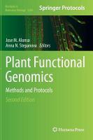 Plant Functional Genomics [electronic resource]