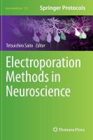 Electroporation methods in neuroscience [electronic resource]