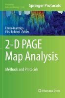 2-D PAGE Map Analysis [electronic resource]: Methods and Protocols