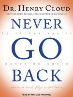 Never go back [sound recording] : 10 things you'll never do again