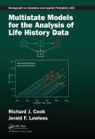 Multistate models for the analysis of life history data /