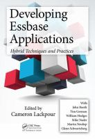 Developing Essbase applications : hybrid techniques and practices
