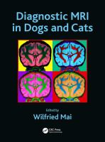 Diagnostic MRI in dogs and cats /