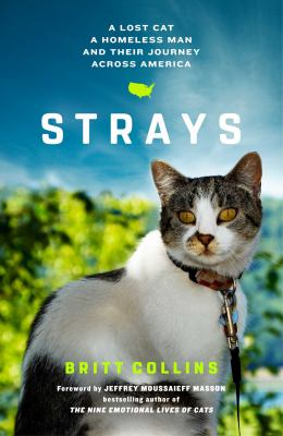Strays: A Lost Cat, a Homeless Man, and Their Journey Across America book jacket