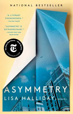 Cover Image for Asymmetry by Lisa Halliday