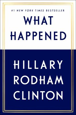 Cover Image for What Happened by Hillary Rodham Clinton