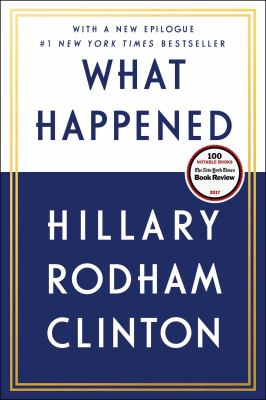 Cover Image for What Happened by Hillary Clinton