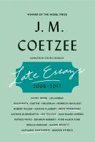 Late Essays: [2006-2017]