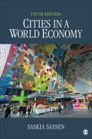 Cities in a world economy /