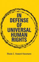 In defence of universal human rights /