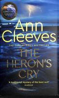 Title: The heron's cry Author:Cleeves, Ann