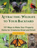 book cover image Attracting Wildlife To Your Backyard