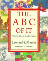 ABC of It : why children's books matter /
