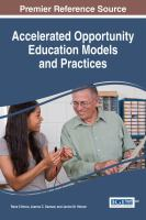Accelerated opportunity education models and practices cover image