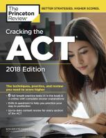 Cracking the ACT'