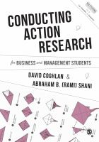 Conducting action research for business and management students /