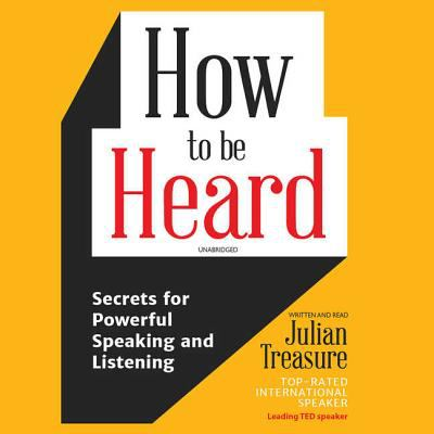 Cover Image for How to be Heard