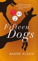 Book cover: Fifteen dogs