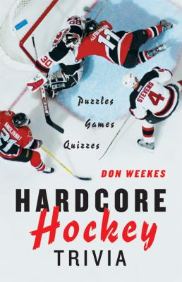 cover of the book Hardcore Hockey Trivia
