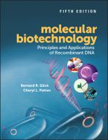 Molecular biotechnology : principles and applications of recombinant DNA /