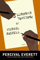 Cover of the book Percival Everett by Virgil Russell : a novel