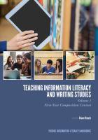Teaching information literacy and writing studies /